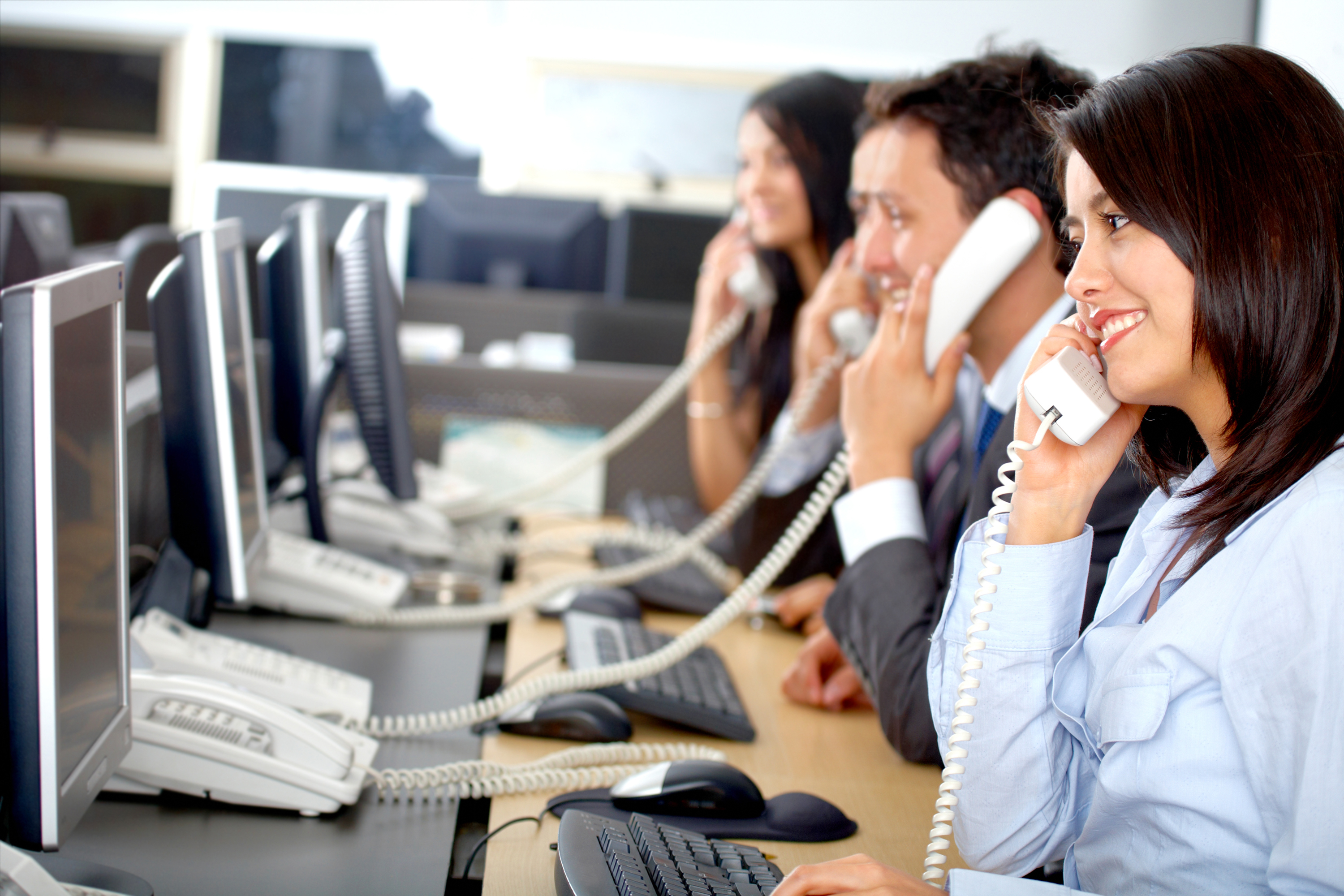 The telemarketing business