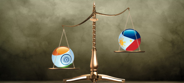 Weighing the options between India and Philippines