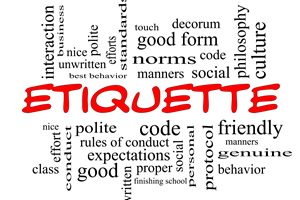 Etiquette 1