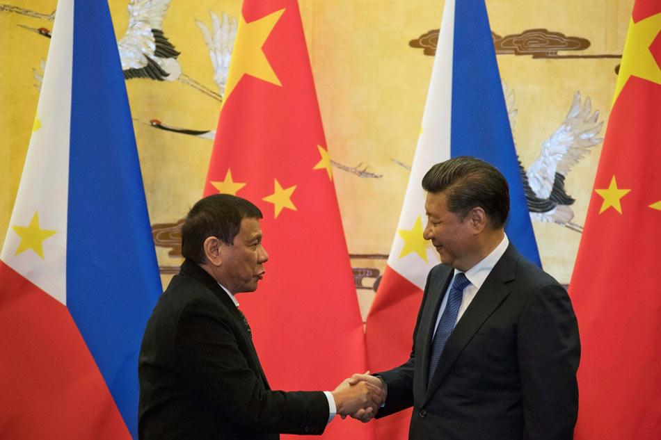 Duterte in China
