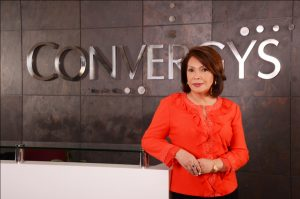 Marife Zamora, Chair of Convergys Philippines Services Corp. Photo From: http://www.gonegosyo.net/